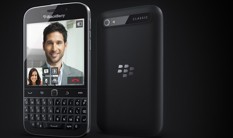 BlackBerry is finally moving on from its Classic smartphone