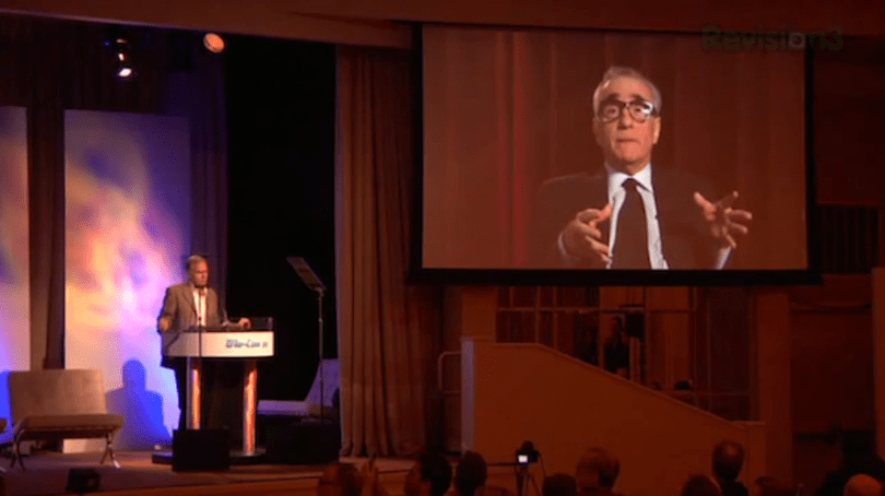 Don't miss this video of Martin Scorsese gushing over Blu-ray at Blu-Con