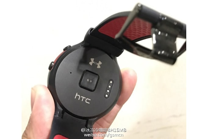 HTC's Android Wear watch emerges in a photo leak