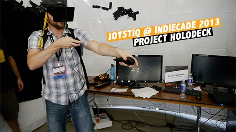 Project Holodeck makes you look kind of silly during a VR zombie apocalypse