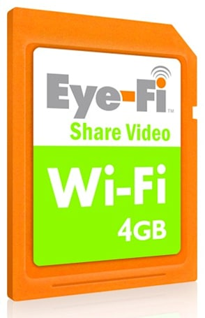 Eye-Fi bringing trio of WiFi-enabled SD cards to UK