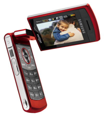 Samsung announces U900 FlipShot for Verizon