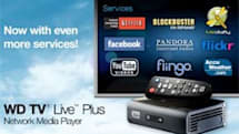 WD TV Live media players gain Blockbuster on Demand, USB wireless keyboard support