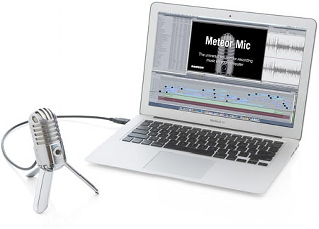 Samson's USB Meteor Mic packs retro flair, $99 price tag