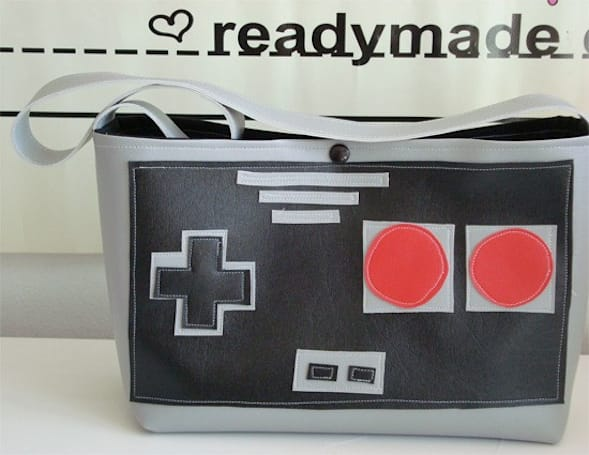 Homemade NES purse is so voguish, so for sale