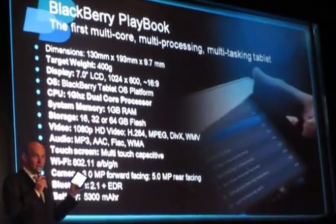 BlackBerry PlayBook 64GB variant confirmed, strapped to a 5,300mAh battery (video)