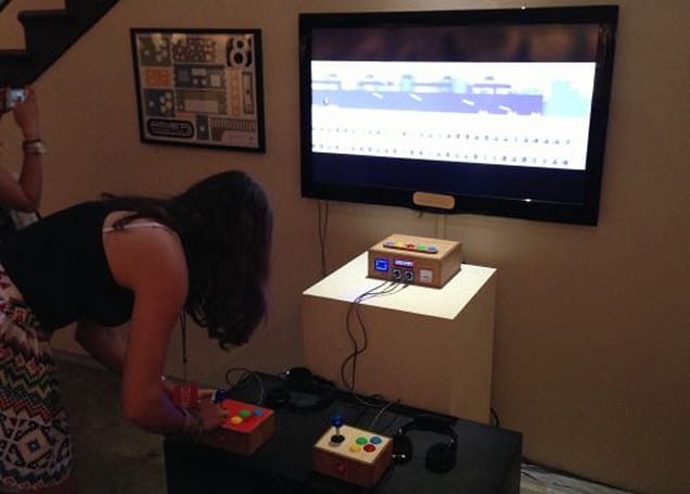 The iam8bit Entertainment System's homemade console premieres in Los Angeles