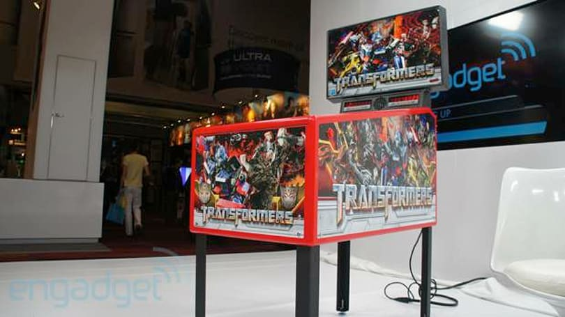 Stern Pinball's Transformers Pin home game hands-on (video)