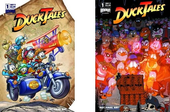 Warren Spector writing new monthly DuckTales comic