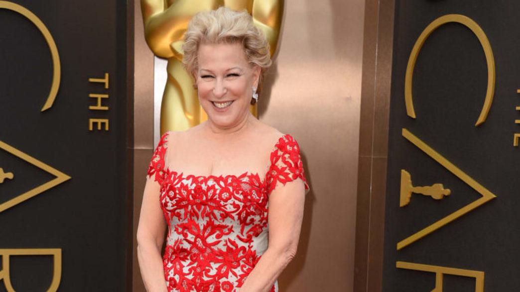 Bette Midler makes her red carpet debut at the Oscars