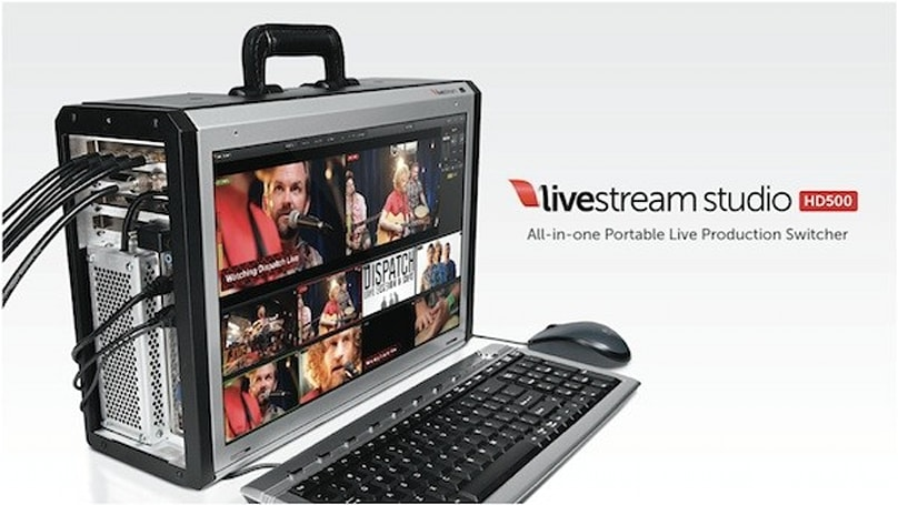 Livestream announces Studio HD500 all-in-one video switcher, ships October 15th for $8,500
