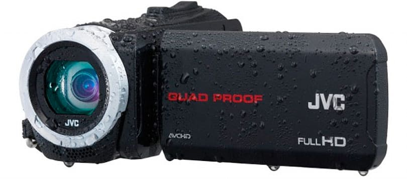 JVC makes its Everio camcorders rugged for 2014