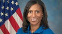 Space Station gets its first African-American crew member