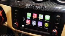 Hands-on with Apple's CarPlay: when Siri met Ferrari (video)