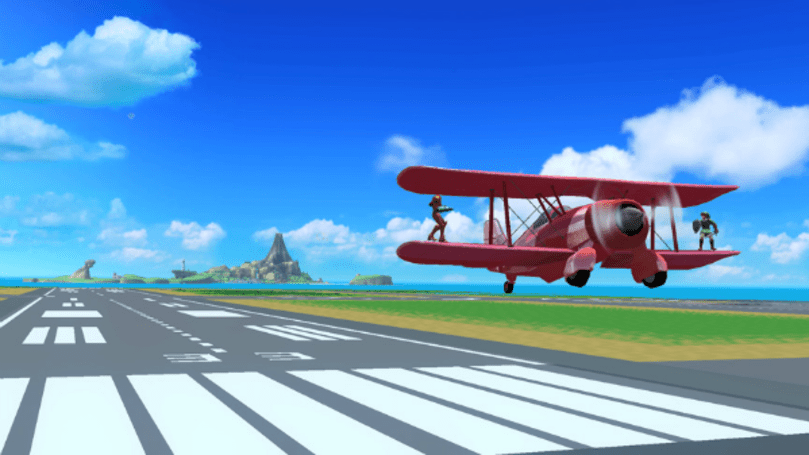 Pilotwings stage spotted in Super Smash Bros Wii U