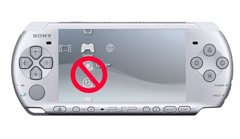 Sony doesn't say 'no' to UMD-less PSP