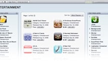 App Store changes layout, threat of the fleshy palm still looms
