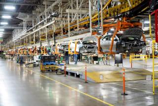 Inside the factory building GM's game-changing Bolt EV