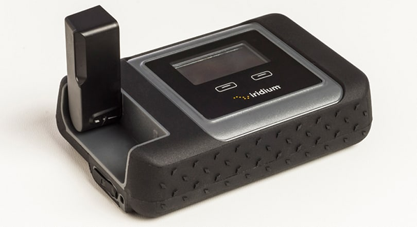 Iridium's satellite hotspot will get you online nearly anywhere on Earth