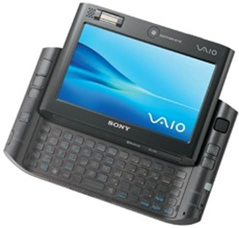 Sony's Vaio UX, now with 32GB of Solid State Disk