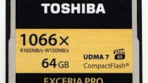 Toshiba to release 4K-ready, 160MB/s CompactFlash memory cards