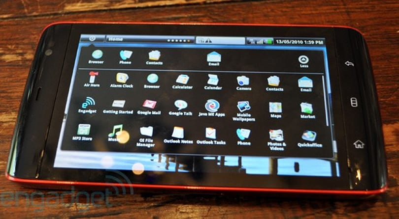 Dell Streak free on contract in UK, assuming £25 monthly plan