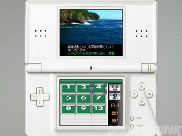 Video of the Nintendo DS 1seg TV tuner in action