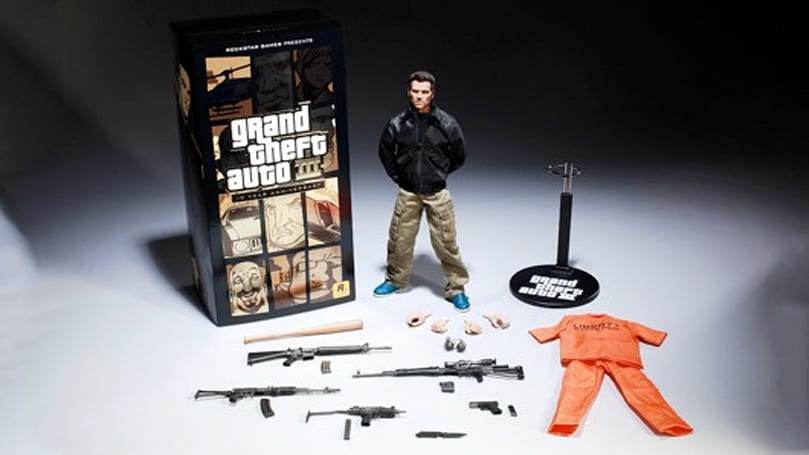 Grand Theft Auto 3 coming to iOS, Android for 10th anniversary, oh and $150 GTA3 action figure