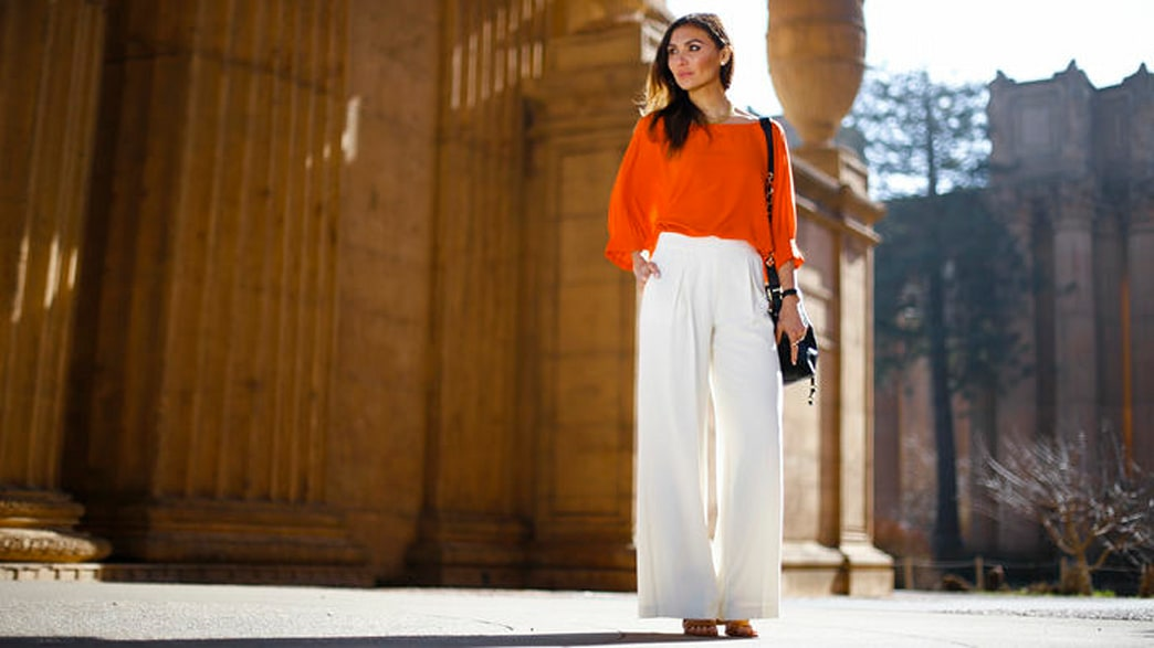 How to wear wide leg pants like your favorite celebs