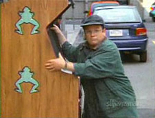 Man leaps past George Costanza's fictional Frogger score