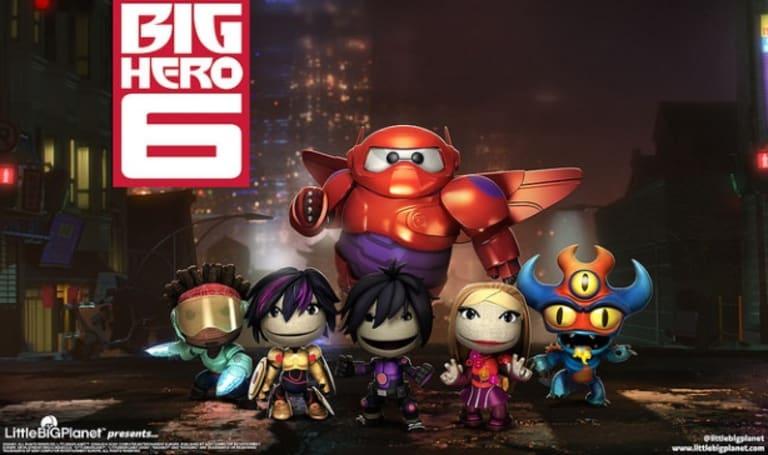 Disney's Big Hero 6 come to save LittleBigPlanet 3