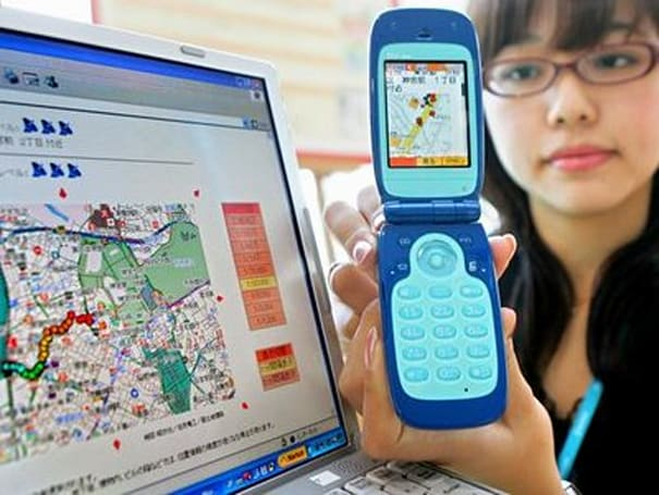 Sanyo kicks out kid-tracking handset for KDDI