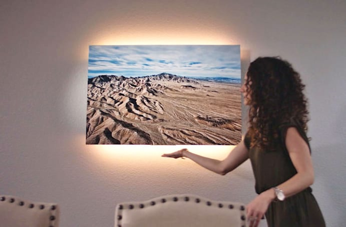 Soundwall's Nova art speaker boasts magic touch and backlights