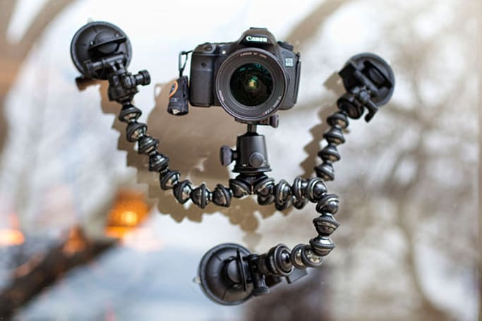 CineSquid suction tripod system looks to add car-mounted footage to your video repertoire
