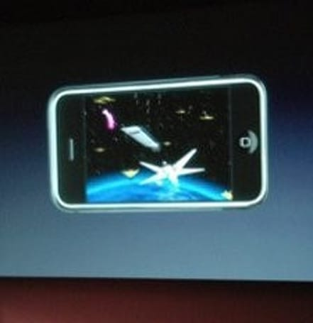 iPhone has the potential to take over handheld gaming