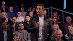 Chris Pratt Surprises Kimmel Audience
