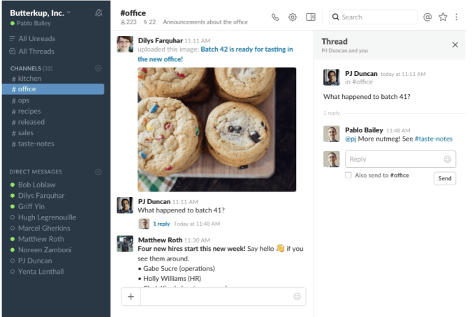Slack adds long-awaited threaded messaging feature