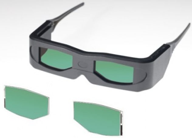 Toshiba's latest use for OCB LCDs: 3D glasses
