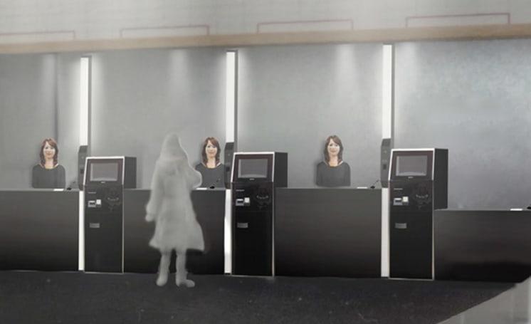High-tech Japanese hotel to employ human-like robot staff