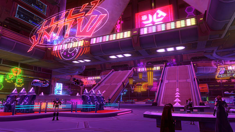 SWTOR's Spoils of War update offers casinos, tweaks group finder
