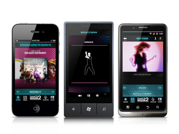 Dance Central Dance Cam app electric slides onto mobiles