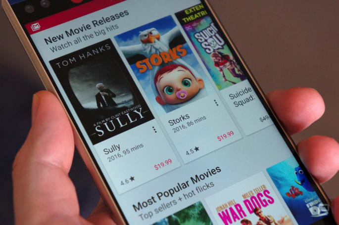 Google Play adds 4K movies to its catalog