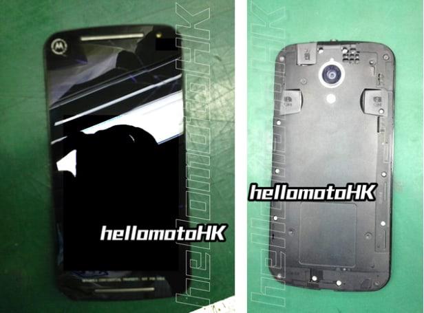 Motorola's next Moto G smartphone poses for photos