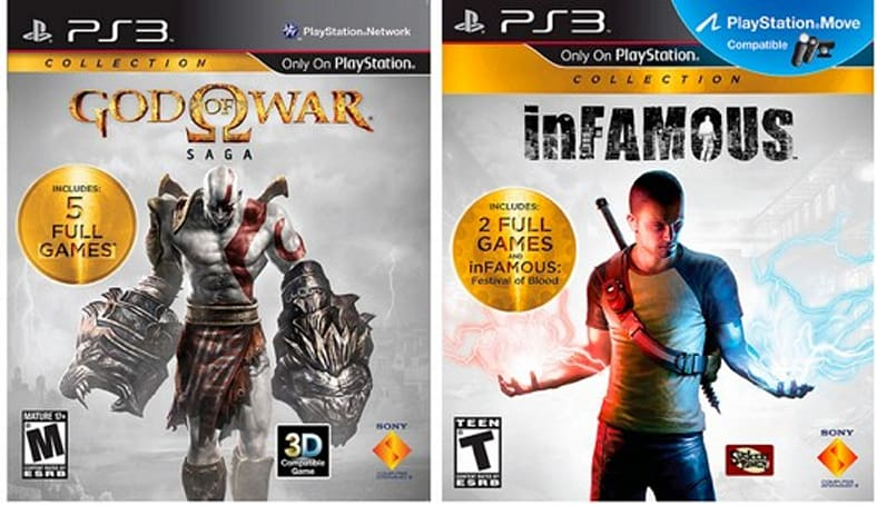 Sony introduces 'PlayStation Collections,' kicks it off with 'God of War Saga' and Infamous Collection [update]