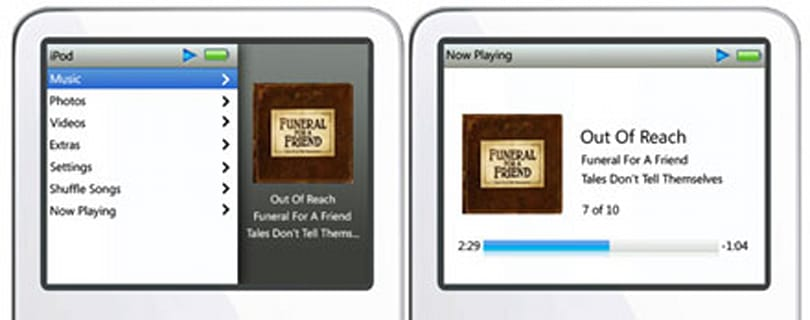 5G iPods hacked to run updated interface