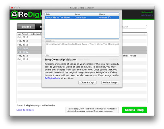 Appeals court denies ReDigi appeal, says music downloads can't be resold