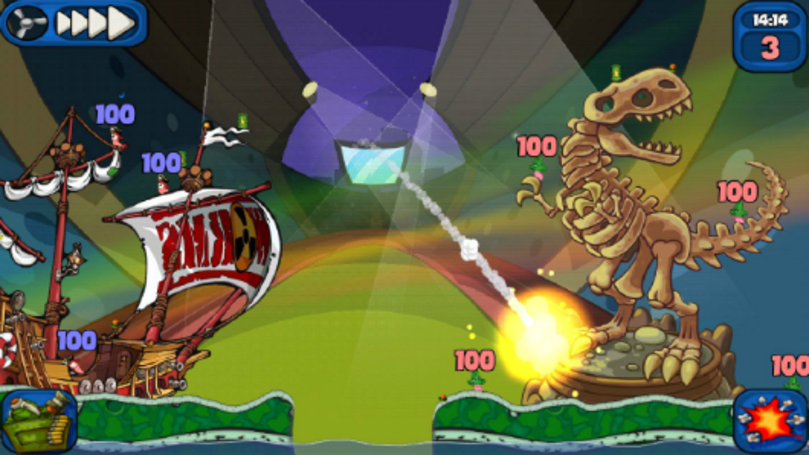 Worms 2: Armageddon now on Android