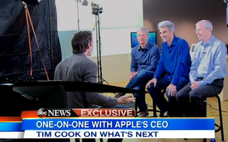 Tim Cook talks product secrecy, sapphire glass, Macs and iRings on Good Morning America
