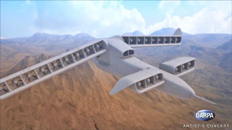 DARPA unveils its next VTOL aircraft concept