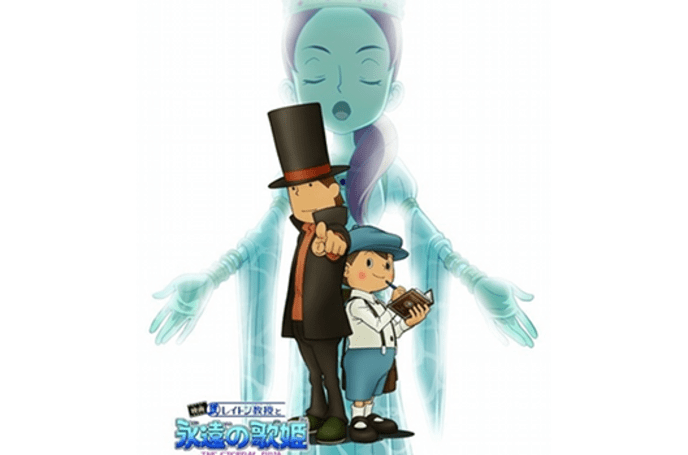 Professor Layton and the Eternal Diva coming to a DVD player near you